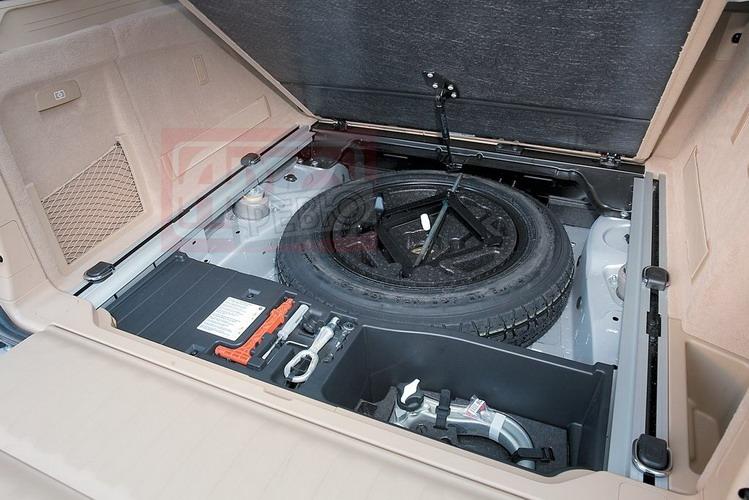 У BMW не только шины Run Flat, но и «докатка»