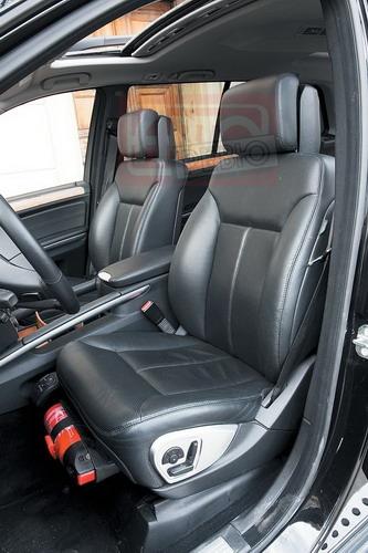 «Заказные» кресла с вентиляцией и регулируемой боковой поддержкой удобны