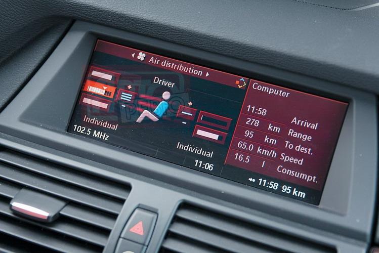 В недрах интерфейса iDrive есть режимы «тонкой» настройки микроклимата