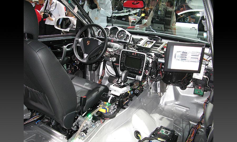 Porsche Cayenne гибрид
