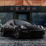 Moscow Kremlin Panamera Stingray GTR Crocodile and gold interior