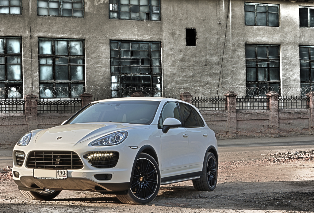Porsche Cayenne Diesel Turbo Look 958